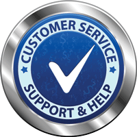 Premium IT support badge