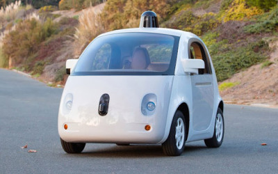 "Google unveils ""road ready"" self-driving car"
